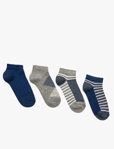 Koton Kids Çorap Seti Gri